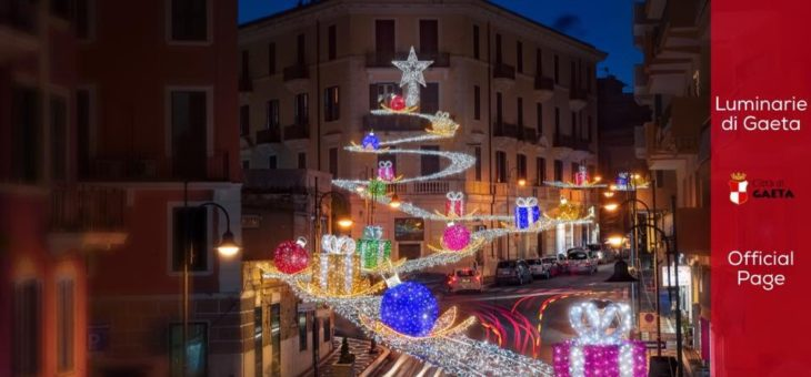 Luminarie di Gaeta, countdown per lo switch-on di sabato