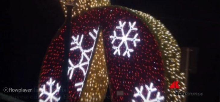 Luci di Natale sul mare, la magia è a Gaeta (#video)