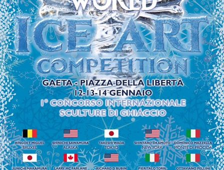 World Ice Art Competition:  A Gaeta 1° concorso internazionale sculture di ghiaccio