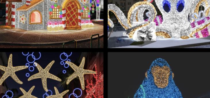Ecco le 4 installazioni luminose più votate sull'App